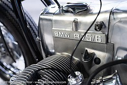 Kengo Kimura's Heiwa Motorcycle's custom 1971 BMW R75 at the 27th Annual Mooneyes Yokohama Hot Rod Custom Show 2018. Yokohama, Japan. Saturday, December 1, 2018. Photography ©2018 Michael Lichter.