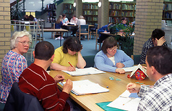 Special needs students at Wakefield College life skills course UK