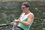 Henley, GREAT BRITAIN, NZL M1X, Duncan GRANT.  2010 Henley Royal Regatta. 12:28:41, Thursday  01/07/2010 [Mandatory Credit: Peter Spurrier / Intersport-images] Rowing Courses, Henley Reach, Henley, ENGLAND . HRR.