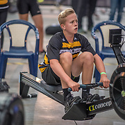 Connor Irving - U15 Race #4  09:15am<br /> <br /> <br /> www.rowingcelebration.com Competing on Concept 2 ergometers at the 2018 NZ Indoor Rowing Championships. Avanti Drome, Cambridge,  Saturday 24 November 2018 © Copyright photo Steve McArthur / @RowingCelebration