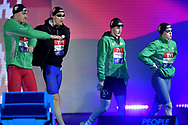 IRELAND IRL <br /> RYAN Shane , MC MILLAN Jack , MC SHARRY Mona , <br /> HILL Danielle <br /> Mixed 4x50 Freestyle Relay <br /> Glasgow 07/12/2019<br /> XX LEN European Short Course Swimming Championships 2019<br /> Tollcross International Swimming Centre<br /> Photo Andrea Staccioli / Deepbluemedia / Insidefoto