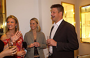 Mrs. Jamie Carter, Bob and Debbie Skinstad.. Party to celebrate Matthew Pinsent's Testimonial Year. theo Fennell. 5 May 2005.  ONE TIME USE ONLY - DO NOT ARCHIVE  © Copyright Photograph by Dafydd Jones 66 Stockwell Park Rd. London SW9 0DA Tel 020 7733 0108 www.dafjones.com
