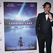 London, England, UK. 14th September 2017.Cast Cesare P. Libardi attend the Landing Lake Film Premiere at Empire Haymarket,London, UK.
