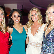 NLD/Hilversum/20160926 - Finale Miss Nederland 2016, Jessie Jazz Vuijk met enkele ex Missen