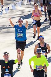 04-11-2018 USA: 2018 TCS NYC Marathon, New York<br /> Race day  TCS New York City Marathon / Els