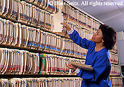 Medical Nurse and Medical Records, Family Practice File Room