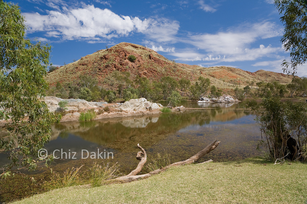 Chinaman's Pool, which contains the Jasper Deposit that gave Marble Bar its name.