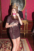REBECCA HOFFNUNG;, Tatler magazine Jubilee party with Thomas Pink. The Ritz, Piccadilly. London. 2 May 2012