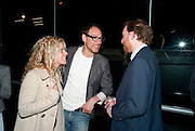 MARIA MARSHALL; BEN LEWIS; SIMON BAKER, A story of Deception. Exhibition of work by Francis Ayls. Tate Modern. London. 14 June 2010. -DO NOT ARCHIVE-© Copyright Photograph by Dafydd Jones. 248 Clapham Rd. London SW9 0PZ. Tel 0207 820 0771. www.dafjones.com.