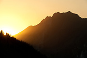 Mt. Superior from Albion Basin, Little Cottonwood Canyon, Utah