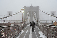On Brooklyn bridge NYB113A