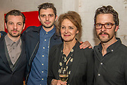 Gethin Anthony, Michael Fox, Kate Fahy and Robert Lonsdale - Press night party for A Lie of the Mind by Sam Shepard a new production by Defibrillator at the Southwark Playhouse, London.