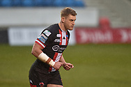 Jack Ormondroyd (25) of Salford Red Devils during the game