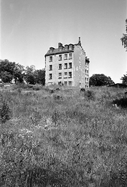 Rivningshus i Gröndal