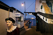 This spot is so well known to both locals and visitors due to the enormous figurehead staring blandly up the narrow steps to the street above. She both intimidates and intrigues. The Bosuns Locker itself is a long established chandlers and Penrose Sailmakers just opposite have been going since the 1825! With the docks just beyond, this is classic Falmouth living history.