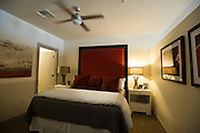 A view of a model one bedroom apartment inside of the new Continental apartment building before its official opening in Dallas on Tuesday, March 12, 2013. (Cooper Neill/The Dallas Morning News)