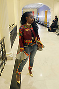 New York, New York-United States: Designer Yvonne Jewnell, Co-Founder, Harlem Fashion Week attends the 6th Season Harlem Fashion Week held at the Museum of the City of New York on February 11, 2019 in New York City. Harlem Fashion Week introduces a new era of fashion culture to the Harlem community inspired by its rich cultural heritage. Their goal is to produce a showcase for the fashion industry & provide business education for emerging designers, grow Harlem businesses and create a platform for diversity in fashion. (Photo by Terrence Jennings/terrencejennings.com)