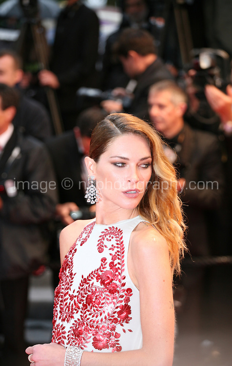 Erin Wasson attending the gala screening of Amour at the 65th Cannes Film Festival. Sunday 20th May 2012 in Cannes Film Festival, France.