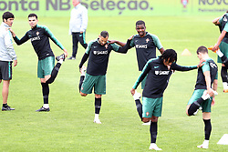 May 30, 2018 - Lisbon, Portugal - Portugal's team players in action during a training session at Cidade do Futebol (Football City) training camp in Oeiras, outskirts of Lisbon, on May 30, 2018, ahead of the FIFA World Cup Russia 2018 preparation matches against Belgium and Algeria...........during the Portuguese League football match Sporting CP vs Vitoria Guimaraes at Alvadade stadium in Lisbon on March 5, 2017. Photo: Pedro Fiuzaduring the Portugal Cup Final football match CD Aves vs Sporting CP at the Jamor stadium in Oeiras, outskirts of Lisbon, on May 20, 2015. (Credit Image: © Pedro Fiuza/NurPhoto via ZUMA Press)