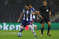 November 6, 2018 - Porto, Porto, Portugal - Porto's Mexican midfielder Hector Herrera in action during the UEFA Champions League, match between FC Porto and FC Lokomotiv Moscow, at Dragao Stadium in Porto on November 6, 2018 in Porto, Portugal. (Credit Image: © Dpi/NurPhoto via ZUMA Press)