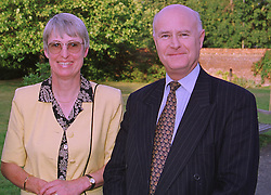 MR & MRS DAVID JORDAN , he is deputy chairman of Philips Electronics UK at an exhibition in London on 3rd September 1998.MJO 6 2ORO