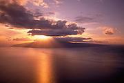 Sunset, Lanai, Hawaii, USA<br />