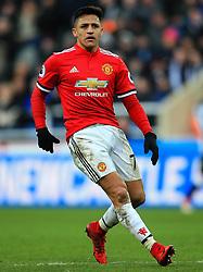 Alexis Sanchez of Manchester United - Mandatory by-line: Matt McNulty/JMP - 11/02/2018 - FOOTBALL - St James Park - Newcastle upon Tyne, England - Newcastle United v Manchester United - Premier League