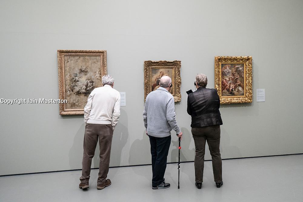 Exhibition of Peter Paul Rubens at the Museum Boijmans van Beuningen in Rotterdam The Netherlands