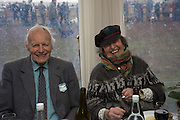 RON BROOKS; PENNY DOWNING, The Heythrop Hunt Point to Point. Cocklebarrow. 24 January 2016
