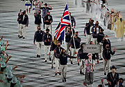 Great Britain during the Opening Ceremony of the Tokyo 2020 Olympic Games. Tuesday 27th July 2021. Mandatory credit: © John Cowpland / www.photosport.nz