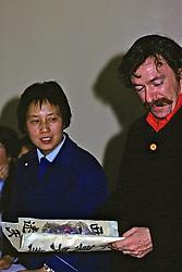 John Catalini Looking At Gift