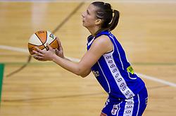 Iva Ciglar of Celje at finals match of Slovenian 1st Women league between KK Hit Kranjska Gora and ZKK Merkur Celje, on May 14, 2009, in Arena Vitranc, Kranjska Gora, Slovenia. Merkur Celje won the third time and became Slovenian National Champion. (Photo by Vid Ponikvar / Sportida)