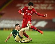 24/10, Liverpool v Sheffield United, Minamino