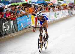 Winner Blaz Jarc at Slovenian National Championships in Road cycling, 178 km, on June 28 2009, in Mirna Pec, Slovenia. (Photo by Vid Ponikvar / Sportida)