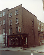 Old Dublin Amature Photos December 1983 WITH, Westland Row, Lincoln Place, Merrion Hall, Prices medicine hall, Fenian St, Old Dublin Amature Photos April 1983 WITH, Canal Locke's, Ringsend, Cottage, Hailing Station, Misery Hill, Lime St, Hanover St, east, Cardiff Lane, Britain Quay, Prices Medical Hall Old amateur photos of Dublin streets churches, cars, lanes, roads, shops schools, hospitals
