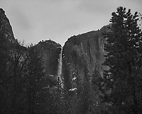 Wintertime in Yosemite Valley. Yosemite National Park. Image taken with a Nikon D3s camera and 50 mm f/1.4 lens (ISO 2800, 50 mm, f/2.8, 1/60 sec).