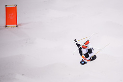 February 12, 2018 - Pyeongchang, SOUTH KOREA - 180212 Vinjar SlÃ¥tten of Norway competes in the men's moguls final during day three of the 2018 Winter Olympics on February 12, 2018 in Pyeongchang..Photo: Carl Sandin / BILDBYRÃ…N / kod CS / 57999_286 (Credit Image: © Carl Sandin/Bildbyran via ZUMA Press)
