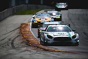 August 5 2018: IMSA Weathertech Continental Tire Road Race Showcase. 33 Mercedes-AMG Team Riley Motorsports, Mercedes-AMG GT3, Ben Keating, Jeroen Bleekemolen