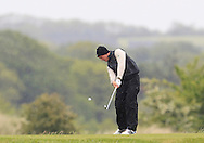 John Ross Galbraith (Whitehead) on the 15th tee during Round 3 of the East of Ireland Amateur Open Championship at Co. Louth Golf Club, Baltray on Monday 1st June 2015.<br /> Picture:  Thos Caffrey / www.golffile.ie
