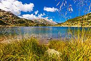 Pirin Mountains, Bulgaria - September, 2020: Banderitsa Lake