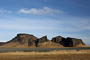Scenery along the Ringroad in Southern Iceland