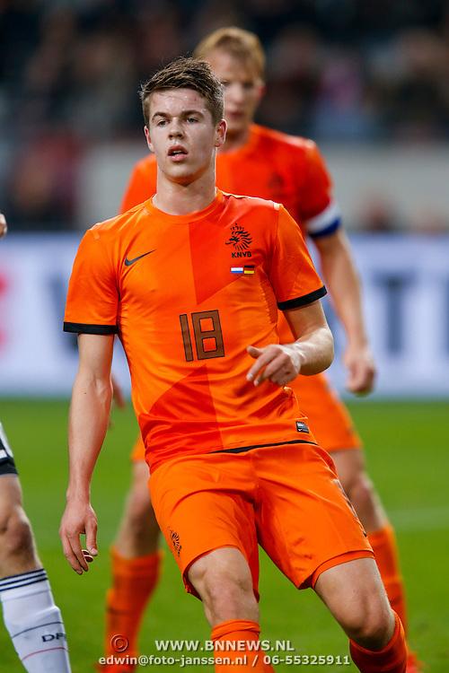 NLD/Amsterdam/20121114 - Vriendschappelijk duel Nederland - Duitsland, Marco van Ginkel
