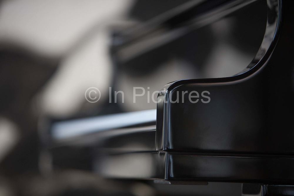 Piano awaiting the piano concert in the medieval square, 19th July 2015, Lagrasse France.