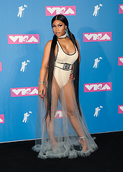 August 21, 2018 - New York City, New York, USA - 8/20/18.Nicki Minaj at the 2018 MTV Video Music Awards at Radio City Music Hall in New York City. (Credit Image: © Starmax/Newscom via ZUMA Press)