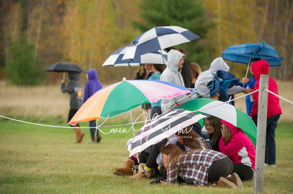 Varsity football Gilford versus Interlakes.  Karen Bobotas/ for the Laconia Daily Sun
