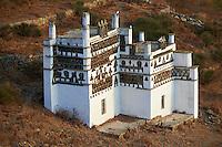 Grece, Cyclades, ile de Tinos, pigeonier dans la vallee de Tarabados // Greece, Cyclades islands, Tinos, pigeon house near Tarabados