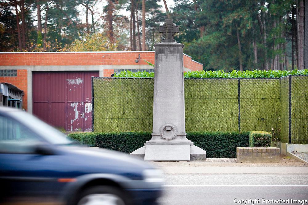 368877-reportage over herdenkingsmonumenten van WO I in provincie Antwerpen-westerlo