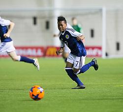 Scotland's Karamoko Dembele. Scotland 2 v 2 Wales, Under 16 Victory Shield, Oriam 1/11/2016.