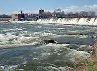 Holyoke Dam on Connecticut River, Holyoke, MA