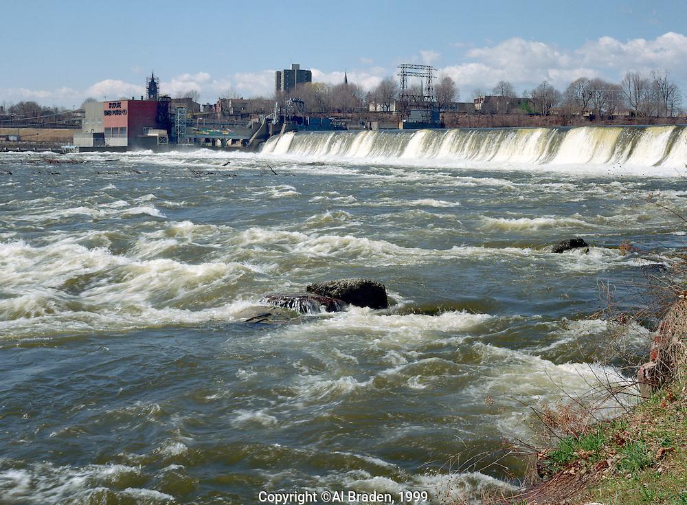 Holyoke Dam on Connecticut River, Holyoke, MA
